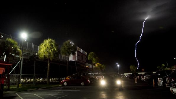 Lightning detectors provide early warning of storms in Sunshine State