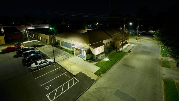 Money-saving LED streetlights illuminate Tennessee town