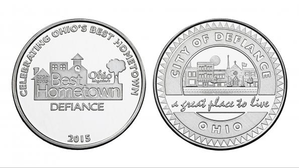 Souvenir coins celebrate and spread hometown pride in Ohio