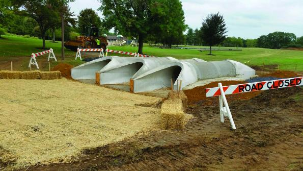 Pennsylvania town uses precast pipe to manage stormwater
