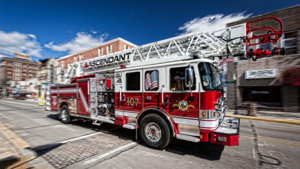 New Hampshire fire crew relies on ladder apparatus with a long reach