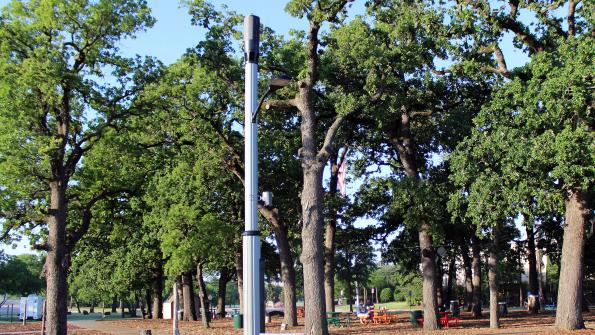 A small cell – in a smart pole – in pursuit of a smarter city