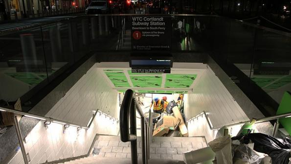 New York subway station damaged in 9/11 attacks opens just before 17th anniversary
