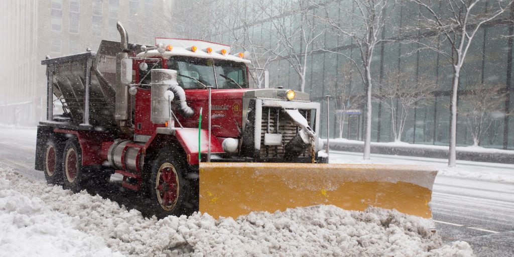Public works crews clear record amounts of snow in first few weeks of new year