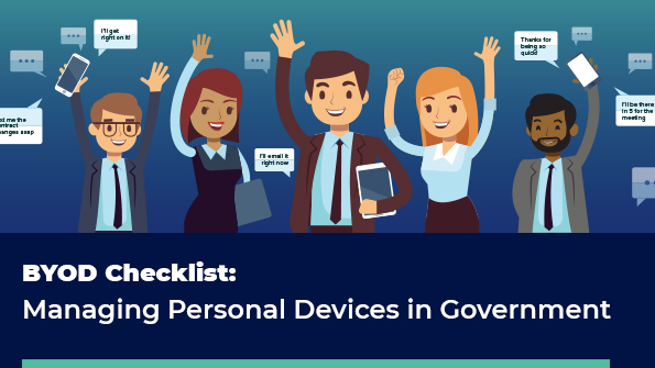 BYOD Checklist: Managing Personal Devices in Government