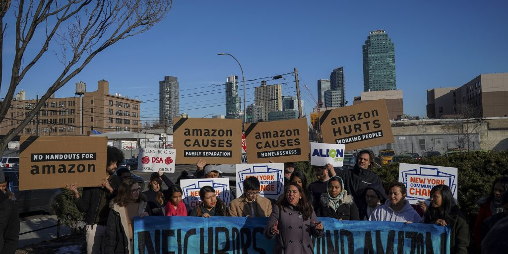Amazon pulls out of New York amid contentious politics