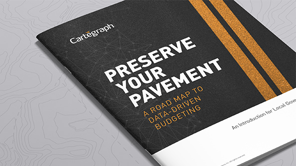 Preserve Your Pavement: A Road Map to Data-Driven Budgeting