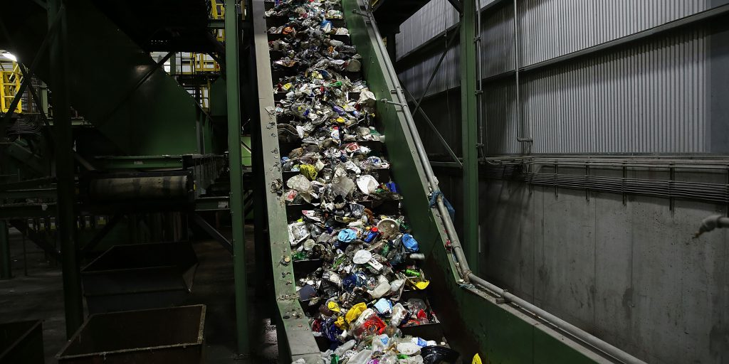 Recycling plant's closure forces nearby governments to suspend recycling services
