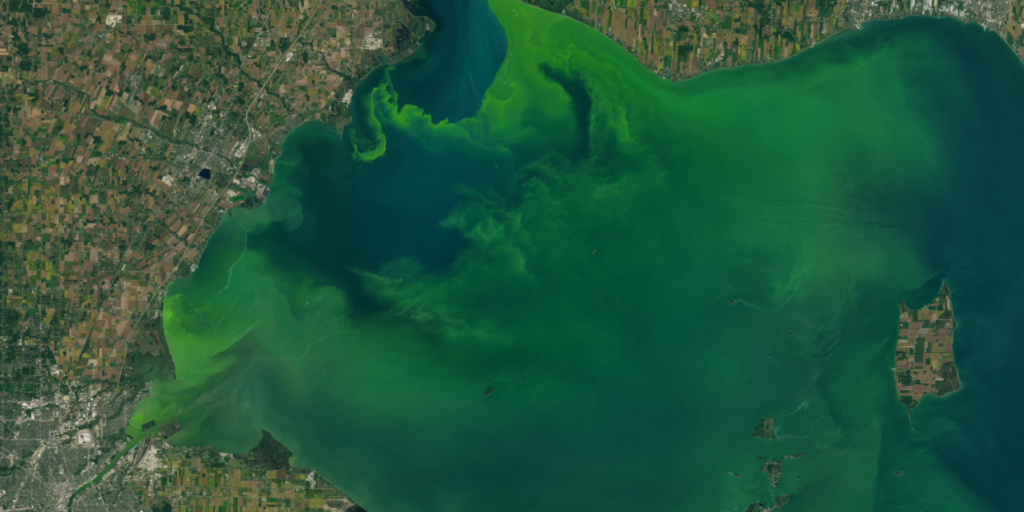 Ohio county sues federal agency over Lake Erie water quality