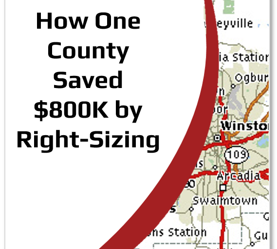 Case Study: How One County Saved $800,000 by Right-Sizing Their Fleet & Sharing Vehicles