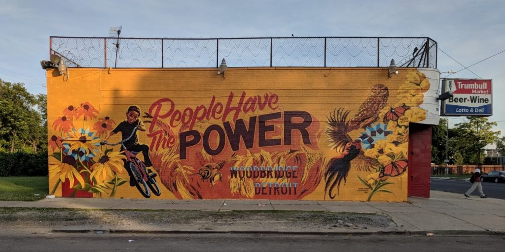 Detroit police arrest muralist painting city-commissioned art