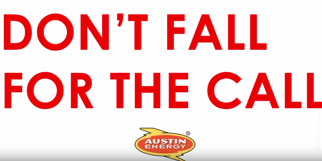 Austin utility warns public about scam calls