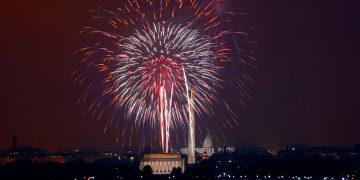 Fourth of July celebration in Washington, D.C.