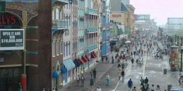 The Atlantic City, N.J. Boardwalk