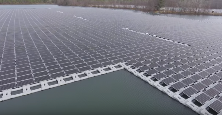 New Jersey town installs largest floating solar system in North America