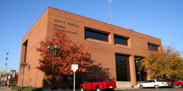 Kokomo, IN city hall and police station