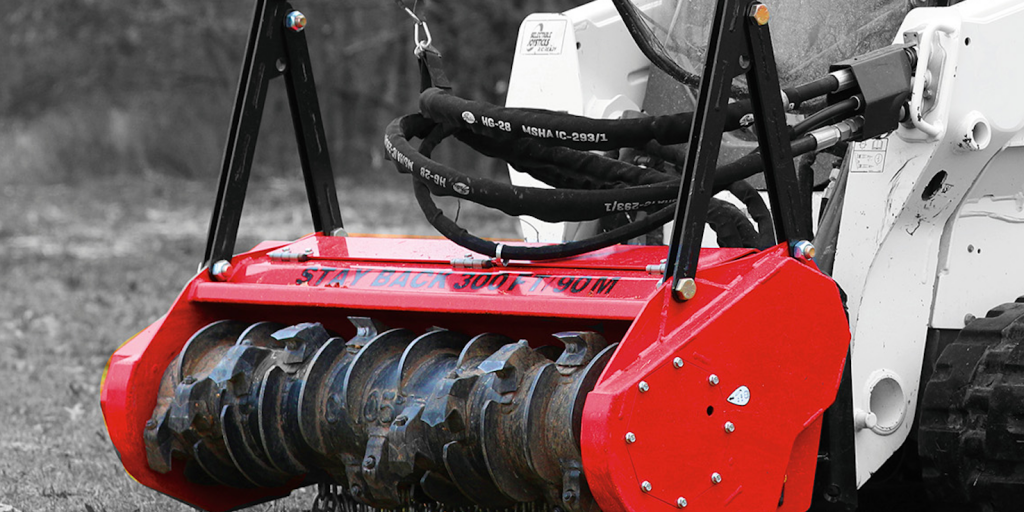 New low-flow mulcher head makes short work of brush and vegetation