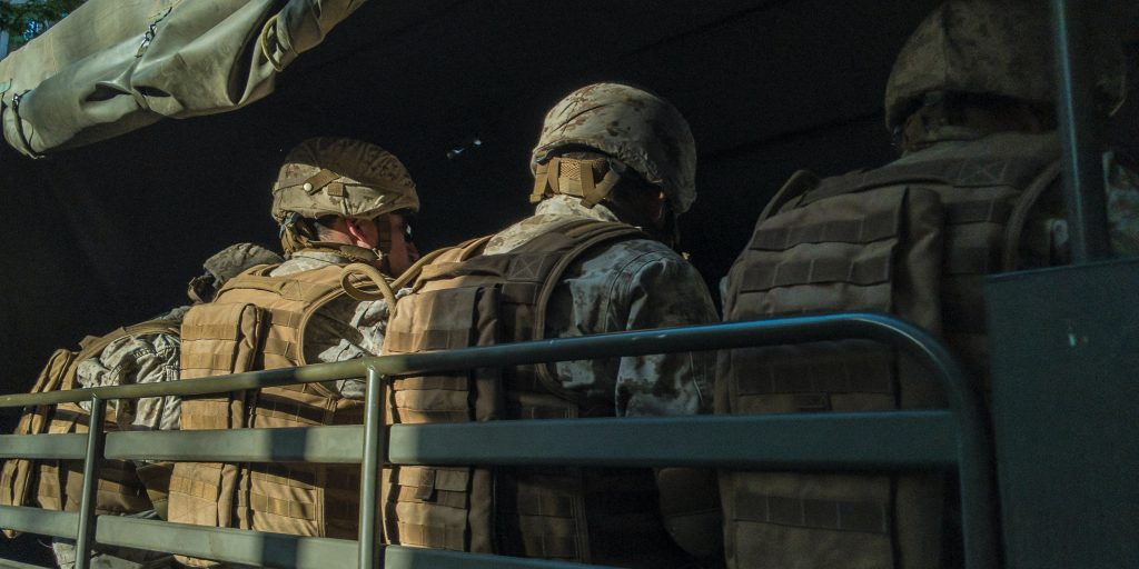 States grappling with pandemic response deploy National Guard. That's not as bad as it sounds.