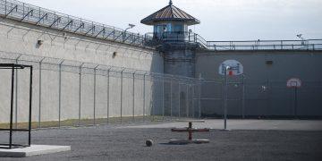 inside of a prison
