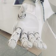 robot hand white