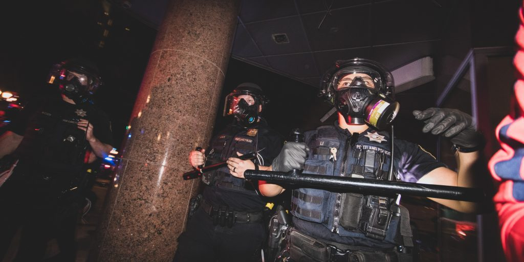 Portland mayor tear gassed as tensions mount between protesters, law enforcement and federal agents
