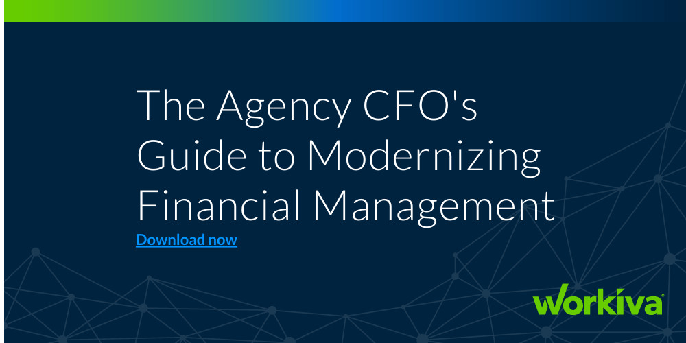 The Agency CFO's Guide to Modernizing Financial Management