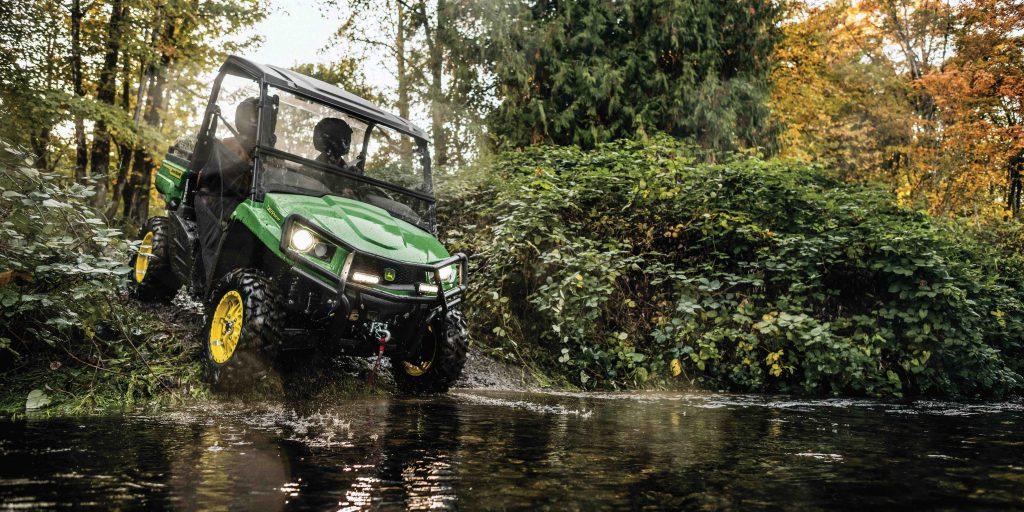 Updated Gator Utility Vehicles are easier to operate and provide improved control
