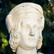 columbus statue bust marble