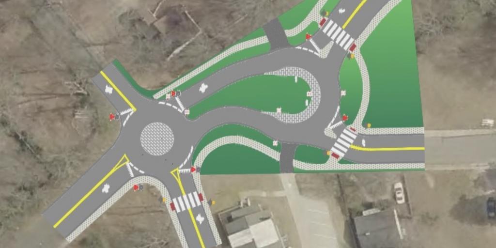 North Carolina city constructing innovative roundabout design