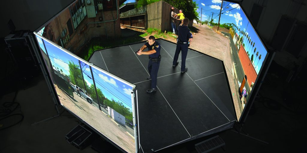How virtual reality simulators are changing law enforcement training