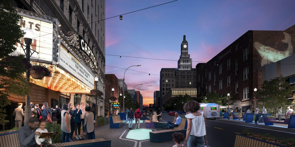 A city's innovative downtown master plan sees future in local, inclusive placemaking