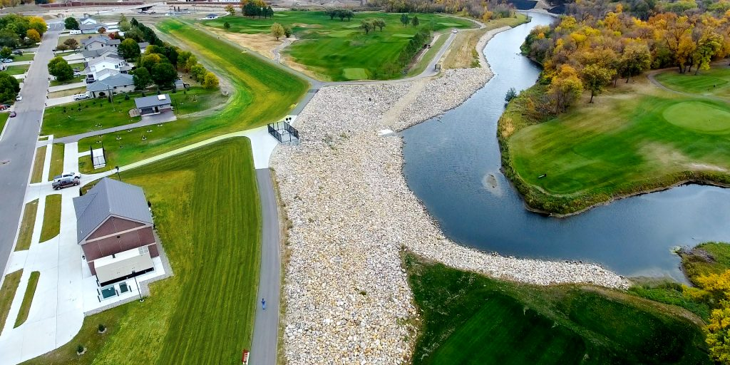 2020 Crown Communities winner: Phases 2 and 3 of Minot, N.D.'s Mouse River Enhanced Flood Protection Plan