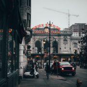 A street in Denver