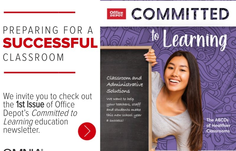 """First Issue of """"Committed to Learning Education"""" Newsletter"""