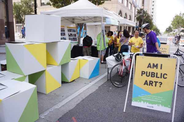 The art of the public art installation: Building a vision with communities