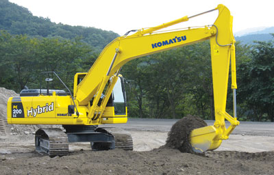 Hybrid excavator – GPN article