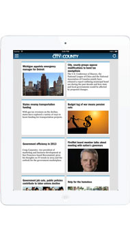 iPad App - American City & County