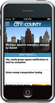 iPhone App - American City & County