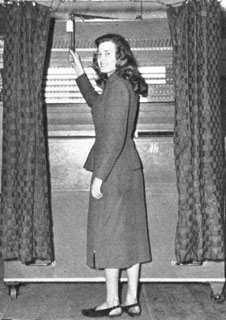 Royal Oak, Mich., voting machine, published in The American City, April 1950