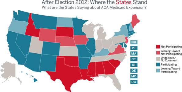 GRAPHIC: After Election 2012: Where the States Stand
