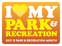 July is Park & Recreation Month, says the NRPA
