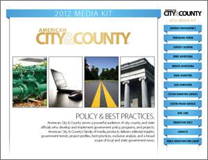 Screenshot of media kit